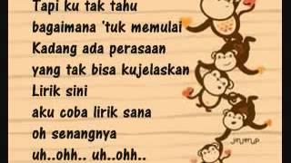 Cinta Monyet Goliath Band Lyrics