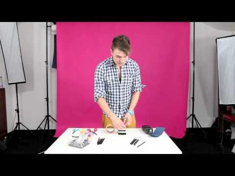 Zrób to sam - Plaster miodu na lampę systemową - poradnik wideo