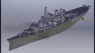 Video Turret Crawl  Battleship Iowa BB61 MP3, 3GP, MP4, WEBM, AVI, FLV Desember 2018