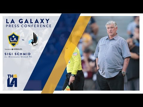 Video: Sigi Scmid vs. Minnesota United FC | FULL PRESS CONFERENCE
