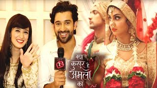 In Star Plus serial Kya Qusoor Hai Amala Ka, Amala & Rajveer enters Suveer & Mahi's marriage in disguise & stop the marriage.. Major Drama.. Interview of Pankhuri Awasthy & Rajveer Singh.. ➤Subscribe Telly Reporter @ http://bit.do/TellyReporter➤SOCIAL MEDIA Links: ➤https://www.facebook.com/TellyReporter➤https://twitter.com/TellyReporter➤https://www.instagram.com/TellyReporter➤G+ @ https://plus.google.com/u/1/+TellyReporter