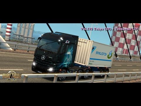 [ETS2] 178 Tokyo (JPN) - Yokohama (JPN) | Dragon Truck Design Pack