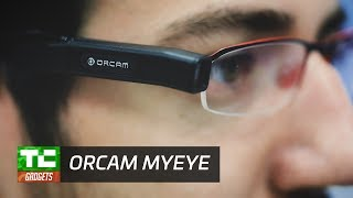 The OrCam MyEye is a device for the visually impaired that can read text, recognize objects and faces. Read more: http://tcrn.ch/2sPyfO4TechCrunch is a leading technology media property, dedicated to obsessively profiling startups, reviewing new Internet products, and breaking tech news.Subscribe to TechCrunch today: http://bit.ly/18J0X2e