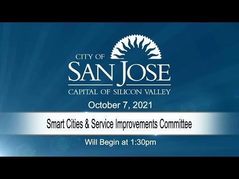 OCT 7, 2021 | Smart Cities & Service Improvements Committee
