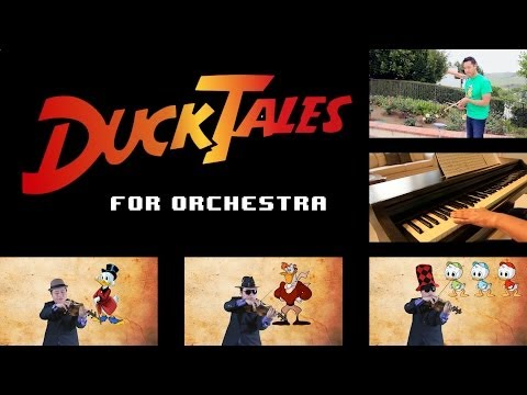 gsmaestro - Original Ducktales Cartoon Theme Song and Ducktales Nintendo Game Themes arranged for Orchestra. Download mp3: http://www.loudr.fm/release/ducktales-medley-f...