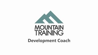 Development Coach - a Mountain Training qualification by teamBMC