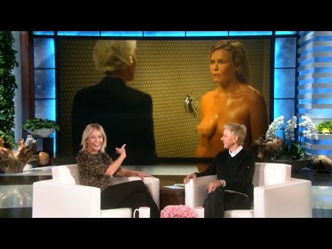The Ellen Show - She's shown off a lot of skin on her show and beyond. Chelsea talked to Ellen about her penchant for being in the buff.