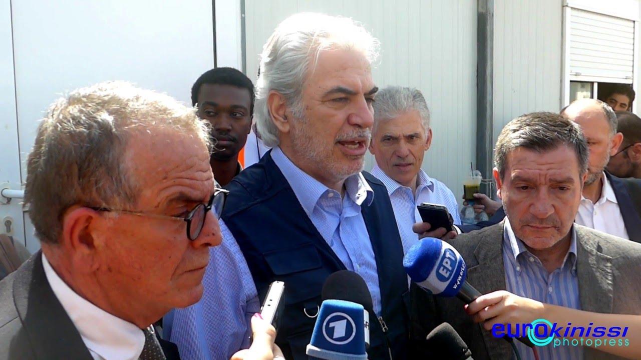 Επίσκεψη του Ευρωπαίου Επιτρόπου Χρ. Στυλιανίδη στον Ελαιώνα