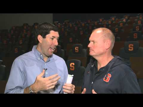 notre - Syracuse football head coach Scott Shafer and Matt Park take a look back at the Orange's game vs. Maryland and preview Saturday's game against Notre Dame at MetLife Stadium. Watch more Syracuse...