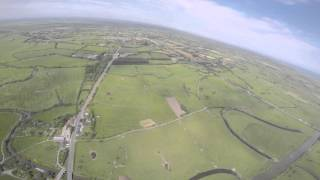 Carentan France  city pictures gallery : C47 jump over Carentan, Normandy, France (Emergency Bailout)