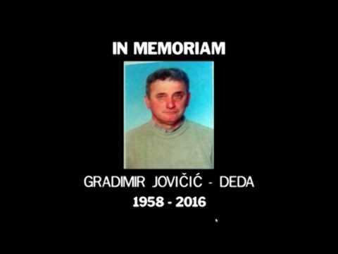 IN MEMORIAM –  ГРАДИМИР ЈОВИЧИЋ ДЕДА