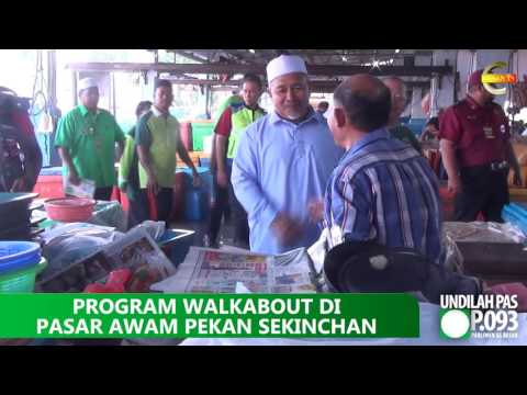 #PRKSungaiBesar : Walkabout Di Pasar Pekan Sekinchan
