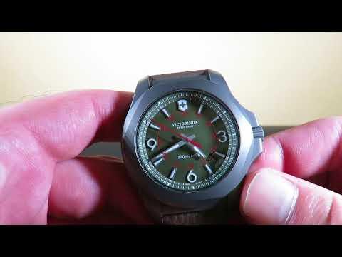 Victorinox IINOX Titanium 2417719 Watch Review   Toughest Watch On the Planet !