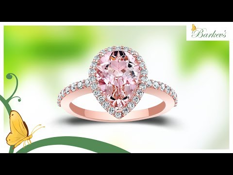 The ONLY Morganite Rose Gold Engagement Ring To Buy! Barkev's MOC 7994LP