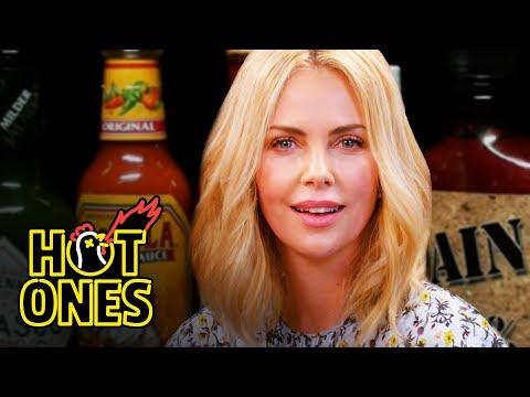 Charlize Theron Takes a Rorschach Test While Eating Spicy Wings | Hot Ones