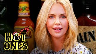Video Charlize Theron Takes a Rorschach Test While Eating Spicy Wings | Hot Ones MP3, 3GP, MP4, WEBM, AVI, FLV November 2018