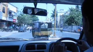 Rajahmundry India  city images : Rajahmundry India driving experience with new driver.