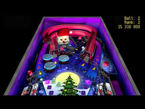 Video of Xmas Pinball
