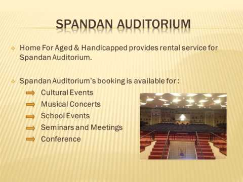 Book the Spacious Auditorium for Events