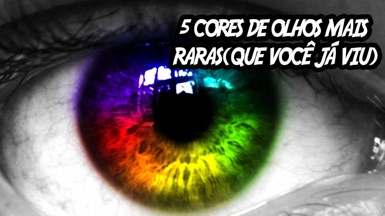 5 cores de olhos mais raras que você já viu