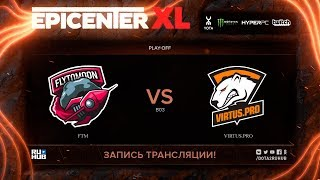FTM vs Virtus.pro, EPICENTER XL, game 1 [Maelstorm, Jam]