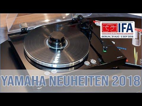 Yamaha Produktneuheiten auf der IFA 2018 (Vinyl 500)