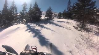 10. 2014 phazer rtx vs 2014 MXZ 600 carb hill climb mar 6 2015