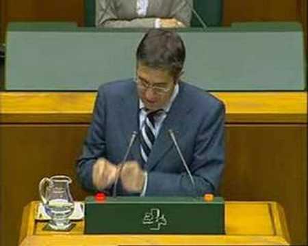 Debate Política General Euskadi 2007 (IV)