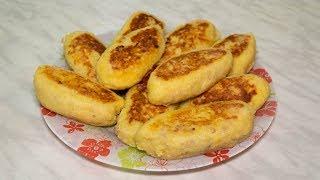 Зразы картофельные с мясом как лепить пошаговый рецепт на сковороде