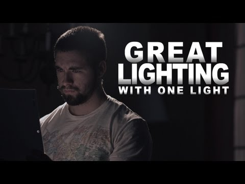 cinematography - Ryan shows a technique to turn 1 light into an entire lighting set up! Plus how to get power for your lights when there is none. Gas Generator: http://www.am...