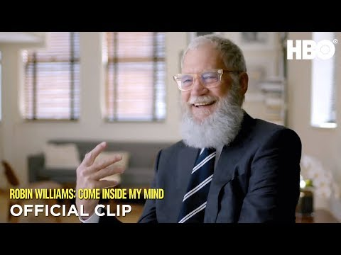 David Letterman 'He Could Fly' | Robin Williams: Come Inside My Mind | HBO