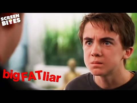 Big Fat Liar: Marty (Paul Giamatti) steals Jason's (Frankie Muniz) story