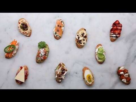 Crostini 11 Ways For Your Next Party • Tasty