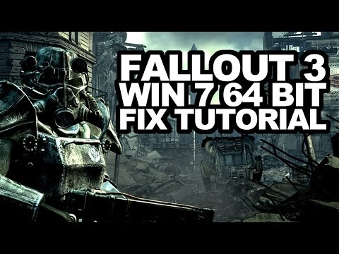 Fallout 3 – Win7 32/64bit Fix Tutorial! Stops freezes and crashes! (Windows 7/Steam version)