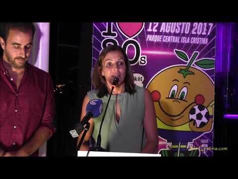 Presentación de la Fiesta de los 80 del Isla Cristina F.C