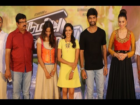 Irumbu Kuthirai Team Meet | Adharvaa | Priya Anand | Raai Laxmi - BW