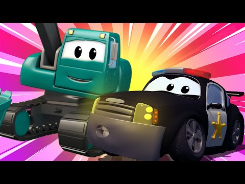 Video La Super Patrulla en Auto City - Incendios Forestales | Dibujos animados de carros download in MP3, 3GP, MP4, WEBM, AVI, FLV January 2017