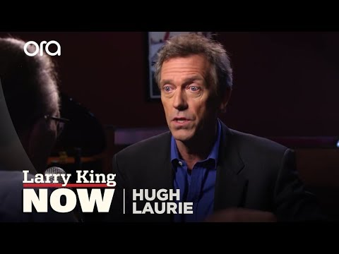 Laurie - Actor and singer Hugh Laurie answers questions from fans delivered via social media.