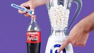 Video Blender VS Mentos & Coca Cola 11 CRAZY EXPERIMENTS MP3, 3GP, MP4, WEBM, AVI, FLV September 2018
