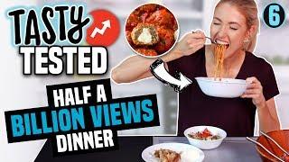 Video I Tried Making a TASTY BUZZFEED DINNER with HALF A BILLION VIEWS?! MP3, 3GP, MP4, WEBM, AVI, FLV Juli 2018