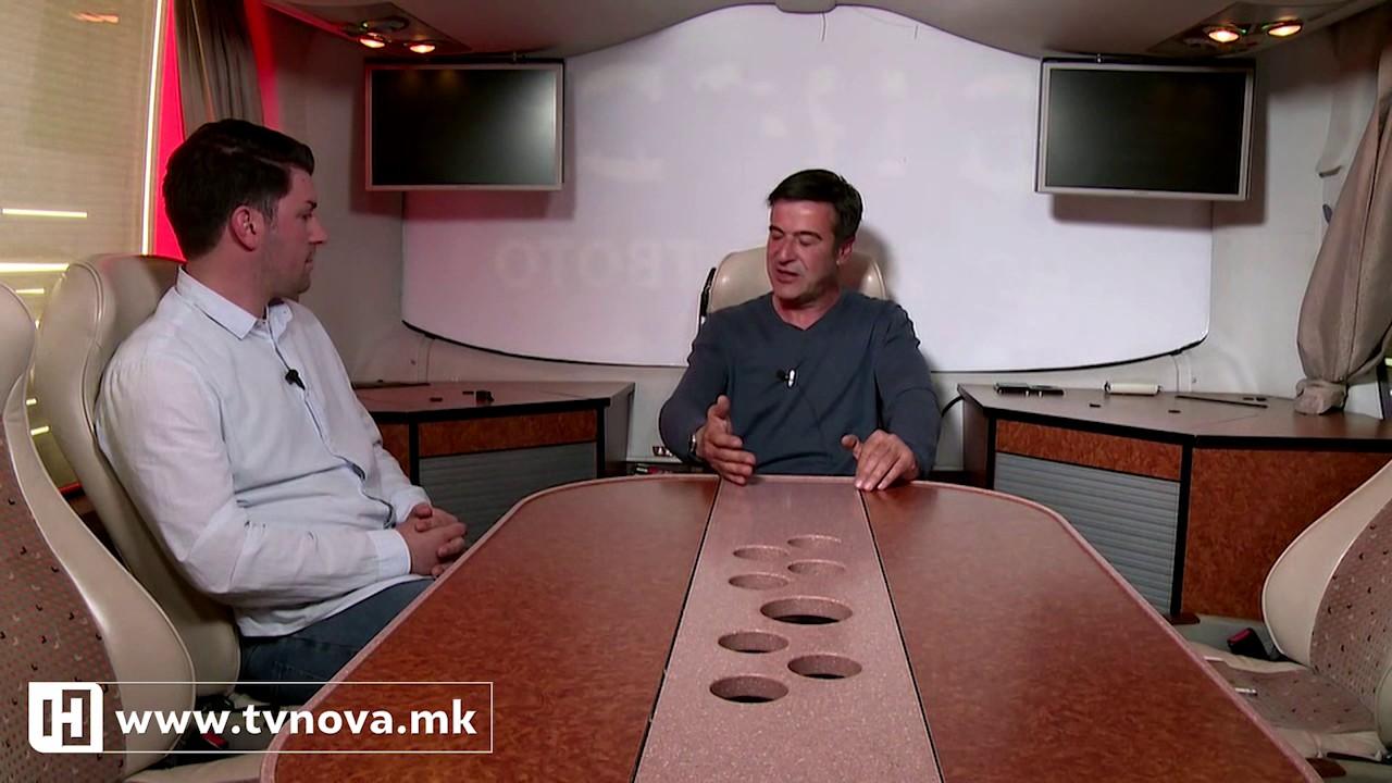 Интервју со Александар Пандов