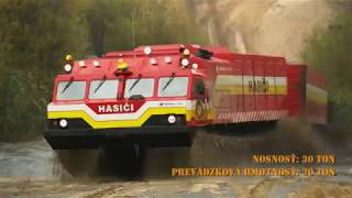 Rosyjski transport Witiaź w akcji