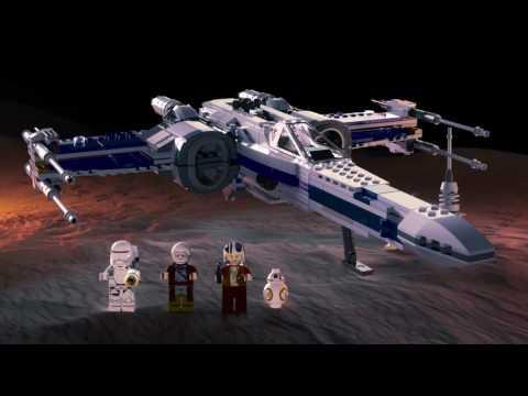 Конструктор Истребитель сопротивления X-Wing Fighter - LEGO STAR WARS - фото № 13