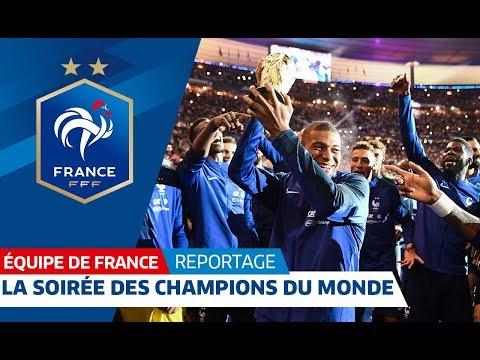 Video Equipe de France : L'inoubliable soirée des Champions du Monde I FFF 2018 download in MP3, 3GP, MP4, WEBM, AVI, FLV January 2017