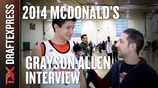 Grayson Allen - 2014 McDonald's All American Game - Interview