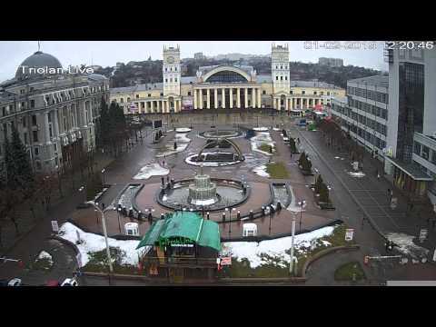 Южный Вокзал - сутки за 6 минут (01/02/2015)