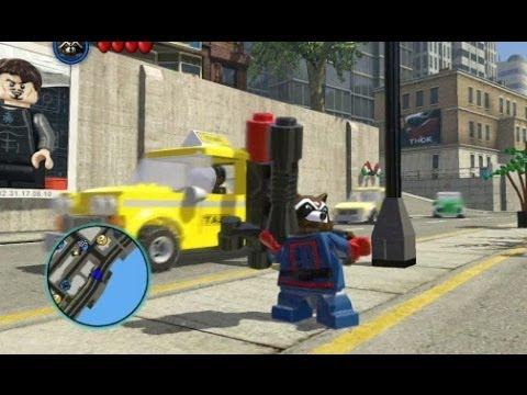 Lego Marvel Super Heroes Rocket Raccoon 08:13 lego marvel super heroes
