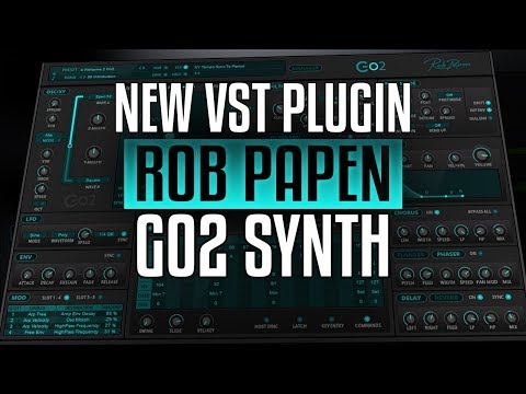 Rob Papen Go2 Introduction - First Look At NEW VST