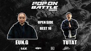 Eun-G vs Tutat – POP ON BATTLE 2020 Open side Best 16