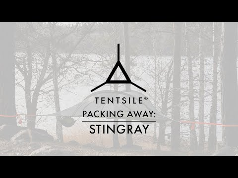 How to pack down the Tentsile Stingray 3-Person Tree Tent